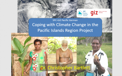 Coping with Climate Change in the Pacific Islands Region Project