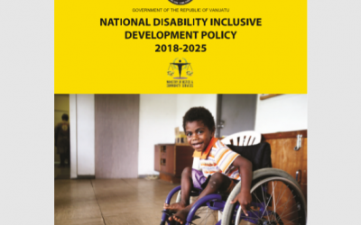 National Disability Inclusive Development Policy 2018-2025