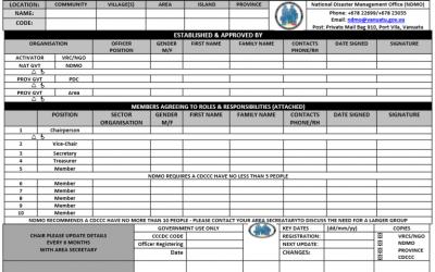 CDCCC Registration