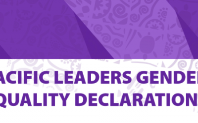 Pacific Leaders Gender Equality Declaration