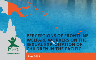 Perfection of Frontline Welfare Workers on the Sexual Exploitation of Children in the Pacific