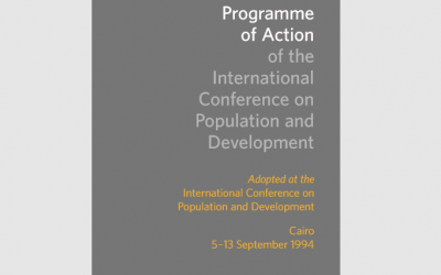 Programme of Action of the International Conference on Population Development