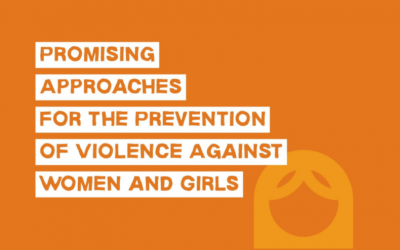 Promising Approaches for the Prevention of Violence Against Women and Girls