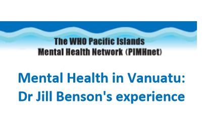 Mental Health in Vanuatu