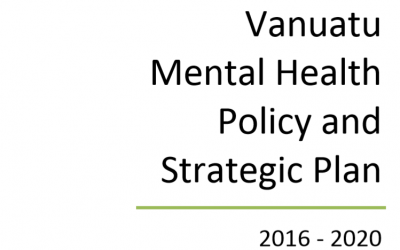 Vanuatu Mental Health Policy and Strategic Plan 2016-2020