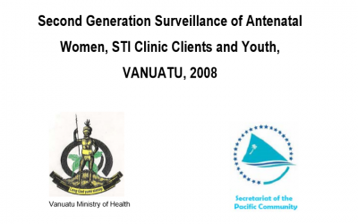 Second Generation Surveillance of Antenatal Women, STI Clinic Clients and Youth