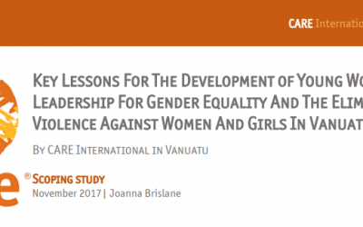 Young Women's Leadership Program – Scoping Study