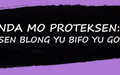 Jenda Mo Proteksen: Infomesen Blong Yu Bifo Yu Go Long Fil