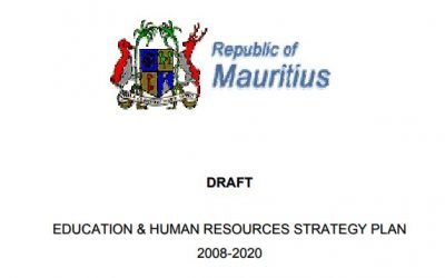 EDUCATION & HUMAN RESOURCES STRATEGY PLAN 2008-2020