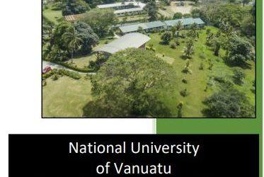 National University  of Vanuatu  2021-2030 STRATEGIC PLAN